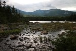 Mt Katahdin Over Sandy Stream Pond