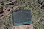 Baxter Peak Plaque