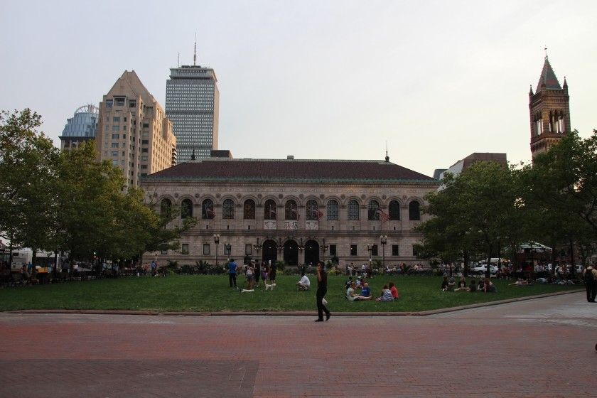 Boston Pulic Library