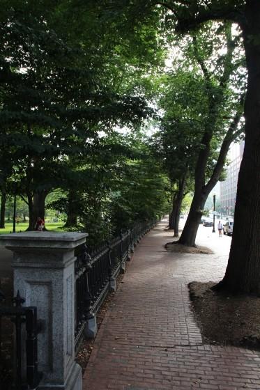 Boston Public Gardens Fence
