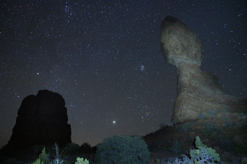 Balanced Rock - Night