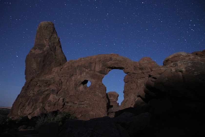 Turret Arch - Night
