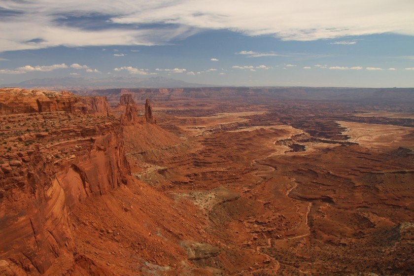 Washerwoman Arch, Airport Tower, Monster Tower, Buck Canyon