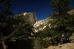 Hallet Peak And Dream Lake
