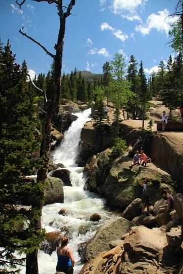 RMNP Alberta Falls