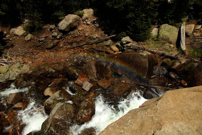 RMNP Alberta Falls Rainbow