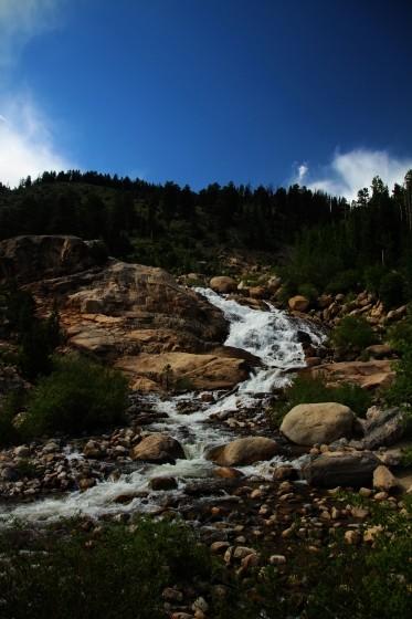 RMNP Alluvial Fan Falls