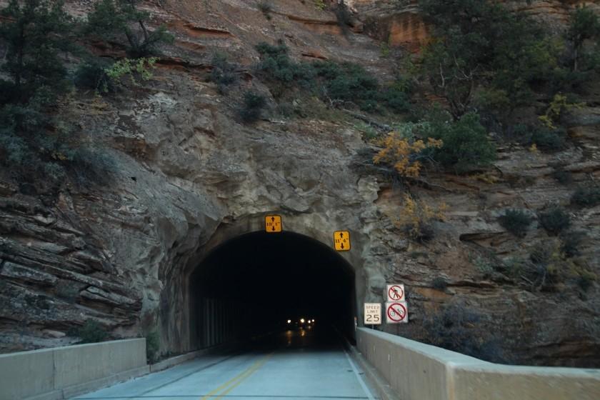 Zion NP Zion-Mt Caramel Tunnel