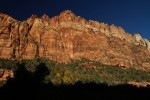 Zion NP Canyon Walls