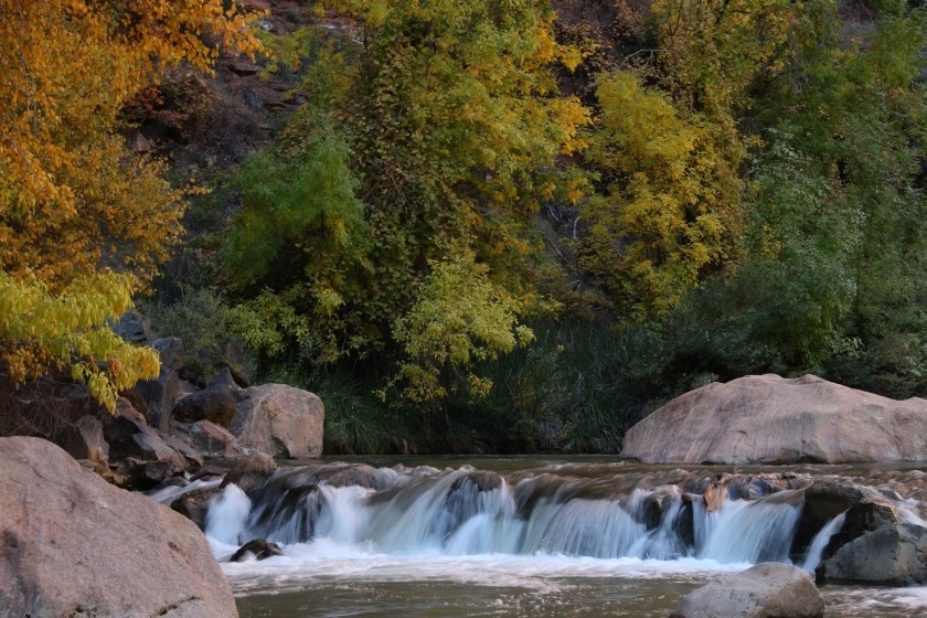 Zion NP Virgin River